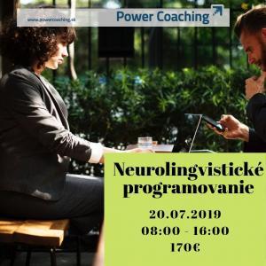 Kurz: Neurolingvistické programovanie