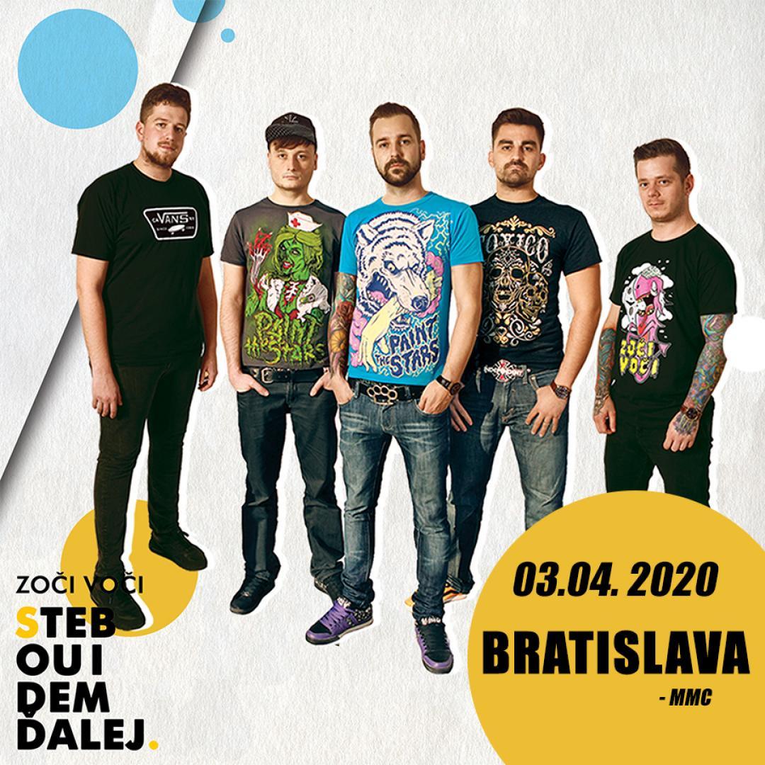 Zoči Voči - S tebou idem ďalej tour / Bratislava