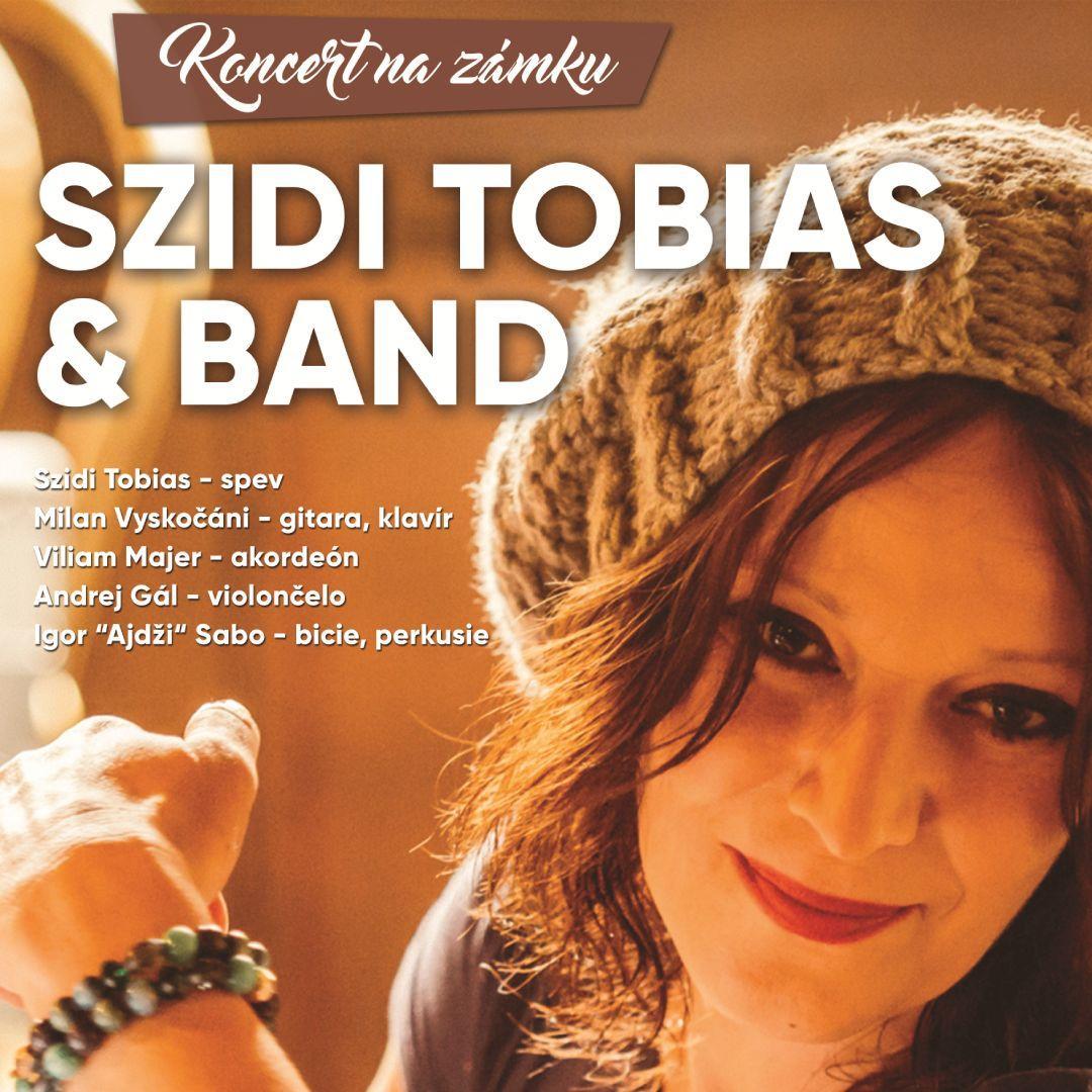 Szidi Tobias & Band / Koncert na zámku