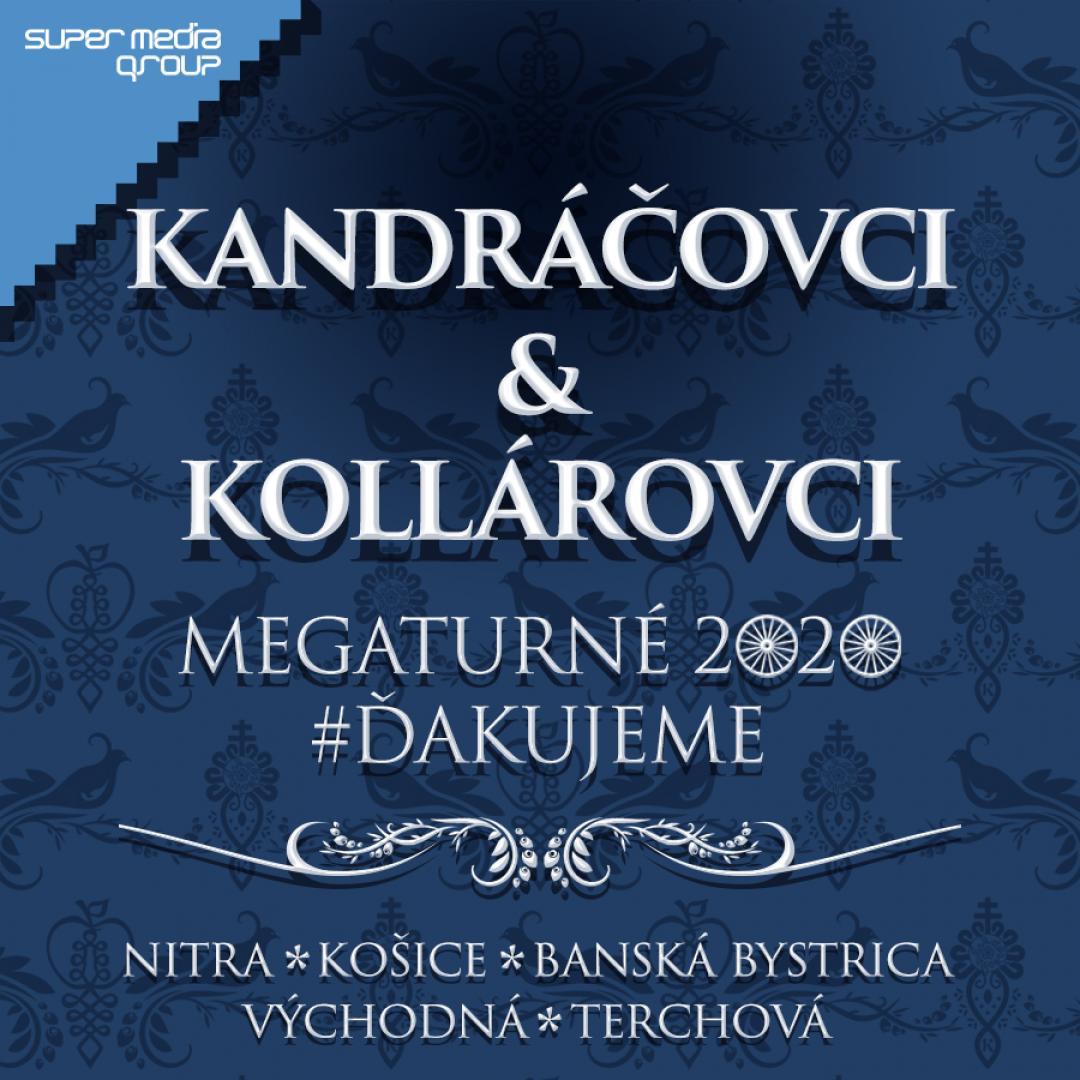 Kandráčovci & Kollárovci - Mega turné OPEN AIR 2020 - Nitra