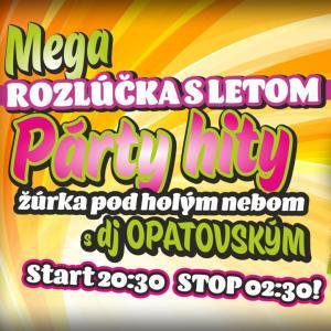 Mega rozlúčka s letom s DJ Opatovským - Amfik Trnava