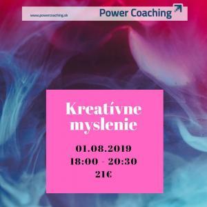 Workshop: Kreatívne myslenie