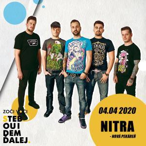 Zoči Voči - S tebou idem ďalej tour / Nitra