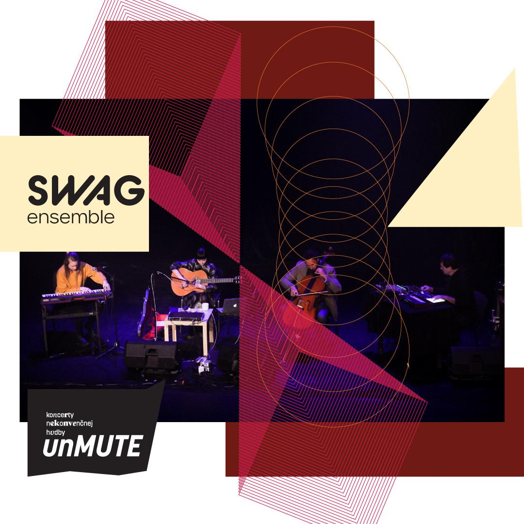 unMUTE: SWAG ensemble | 11.06.2021 - piatok Kultúrne centrum Malý Berlín, Trnava