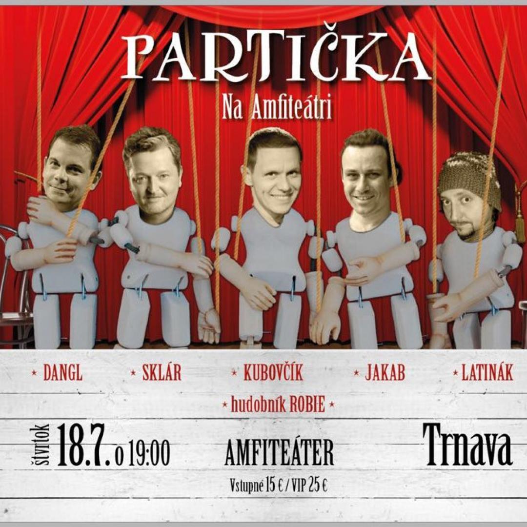 Partička na Amfiteátri / Trnava