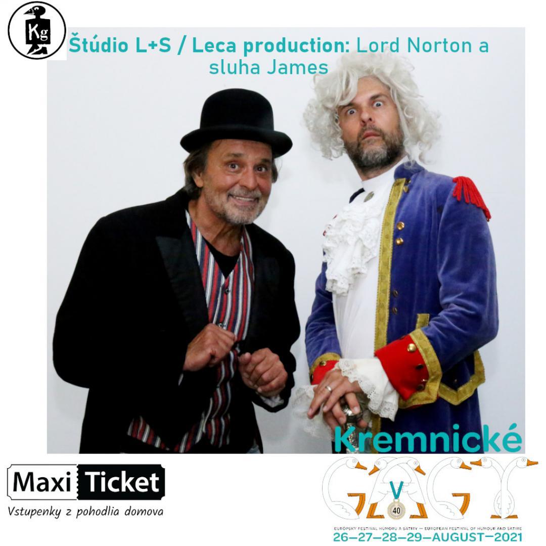 Štúdio L+S / Leca production: Lord Norton a sluha James