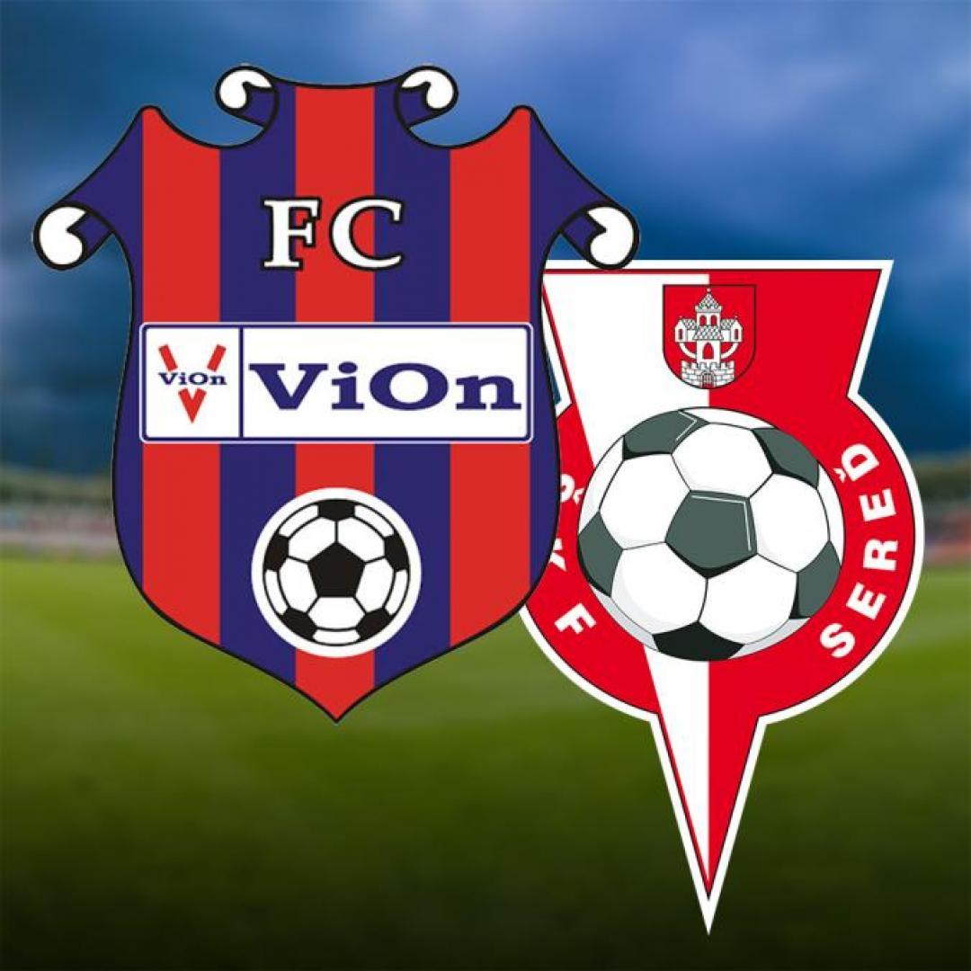 FC ViOn Zlaté Moravce-Vráble - ŠKF ORION TIP Sereď