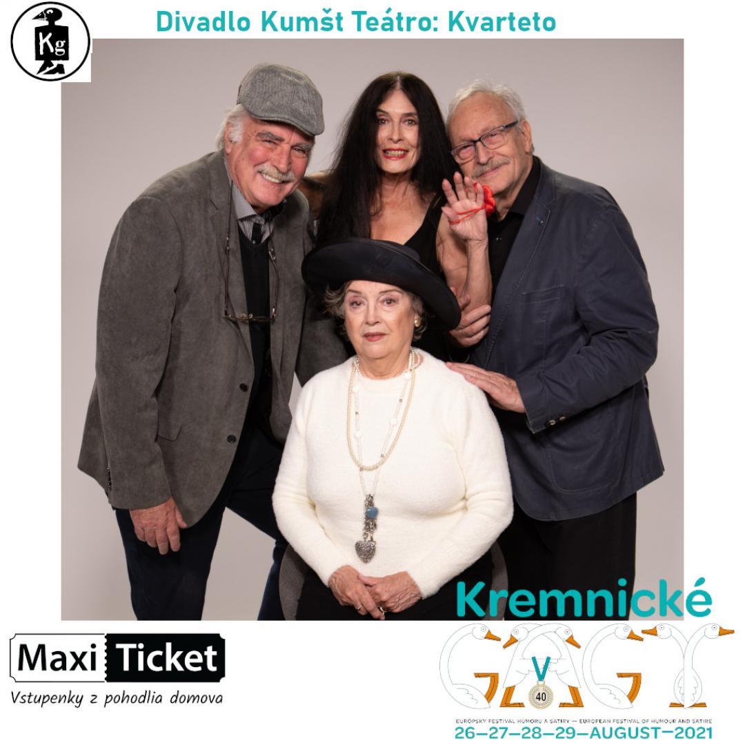 Divadlo Kumšt Teátro: Kvarteto