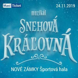 Snehová Kráľovná - muzikál / Nové Zámky