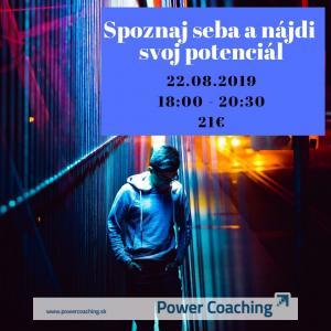 Workshop: Spoznaj seba a nájdi svoj potenciál