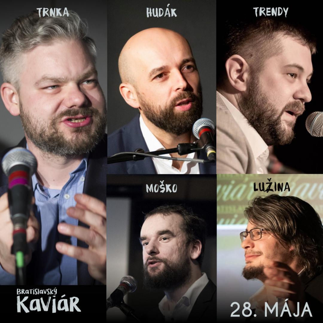 Bratislavský Kaviár Kuba Lužinu (28. mája)