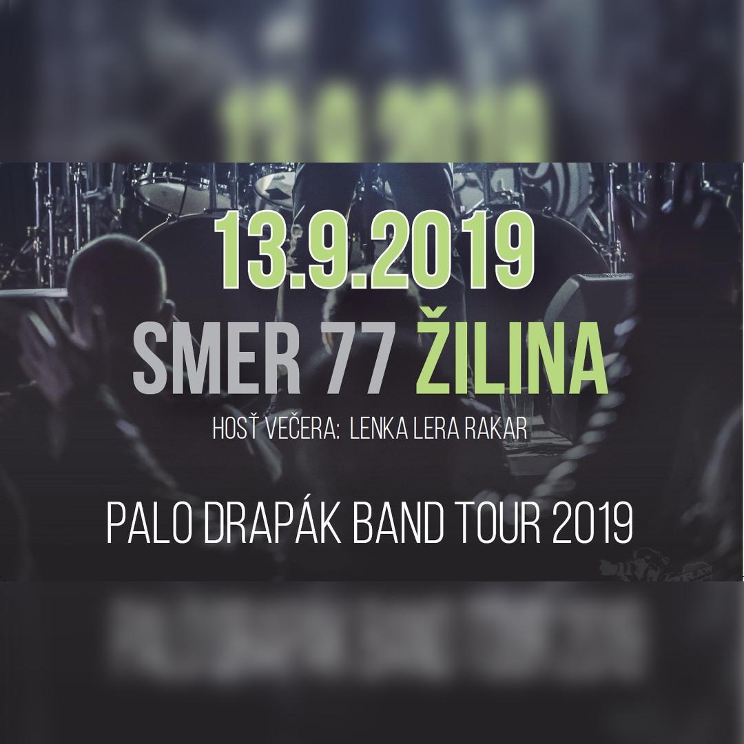 Palo Drapák Band Tour 2019 Žilina 13.9.