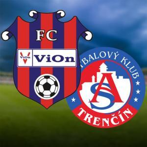 FC ViOn Zlaté Moravce-Vráble - AS Trenčín