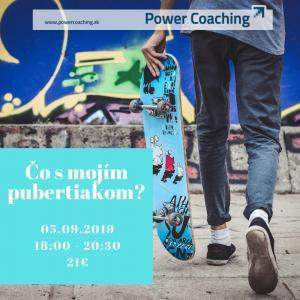 Workshop: Čo s mojím pubertiakom?