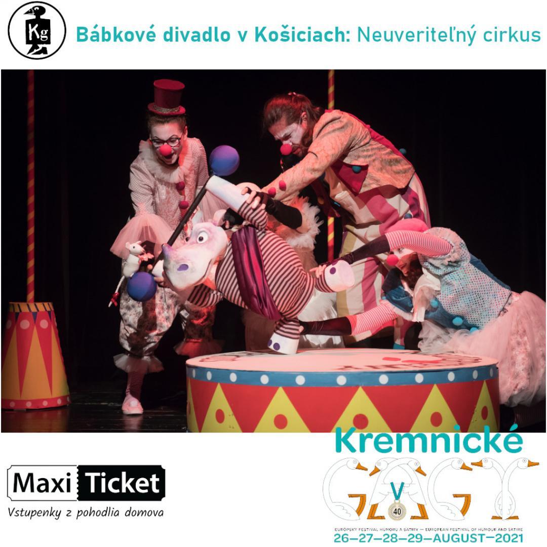 Bábkové divadlo v Košiciach: Neuveriteľný cirkus