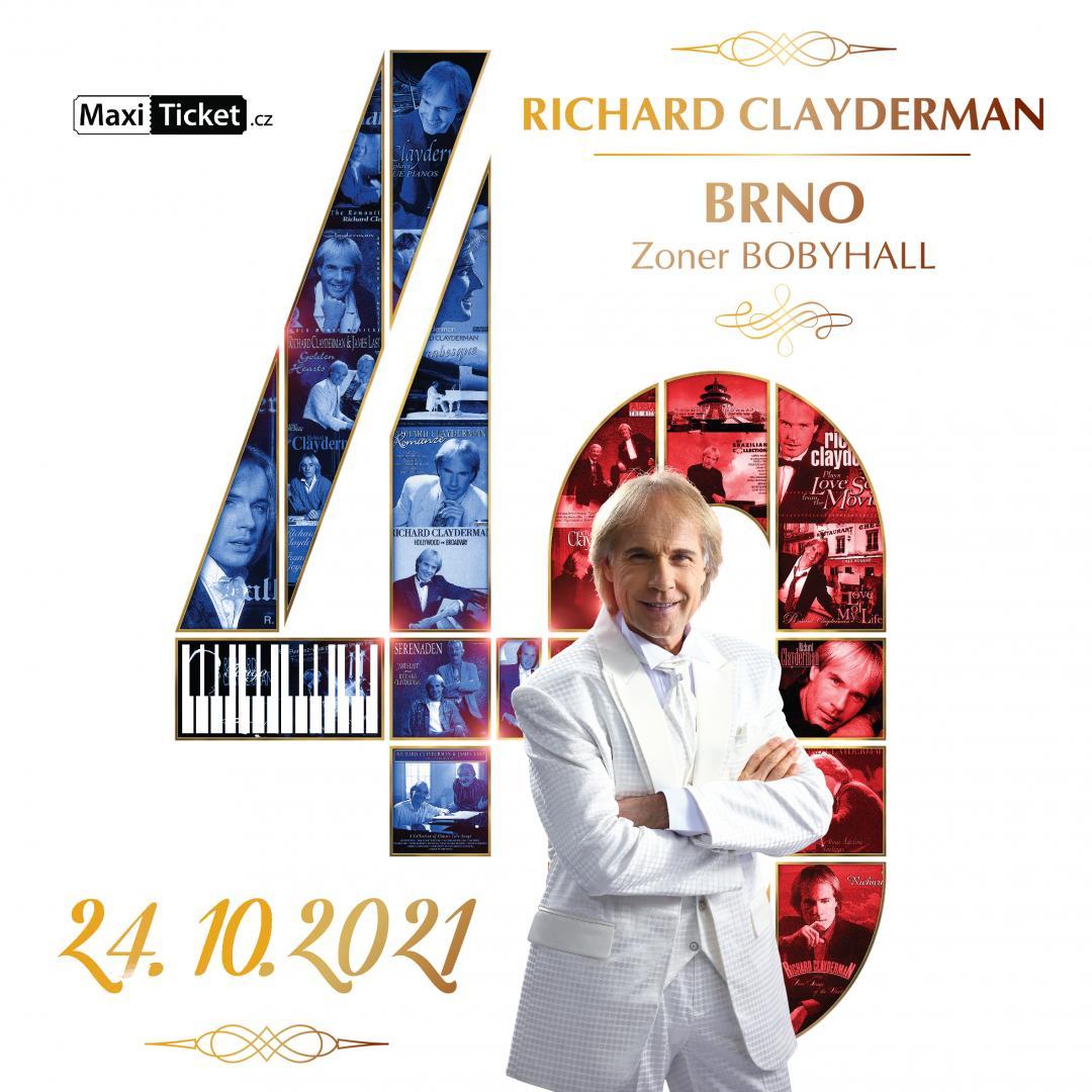 Richard Clayderman: koncert 2021 / Brno