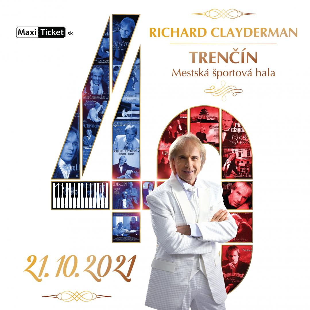Richard Clayderman: koncert 2021