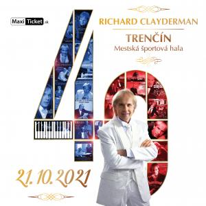 Richard Clayderman: koncert 2021 / Trenčín