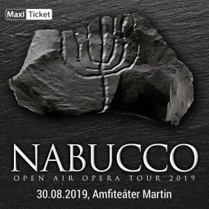 Nabucco Openair tour 2019, Martin