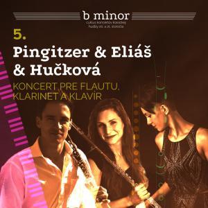 Pingitzer & Eliáš & Hučková / b minor / Trnava