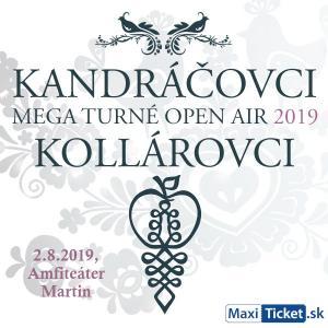 Kandráčovci - Mega turné OPEN AIR 2019, Martin