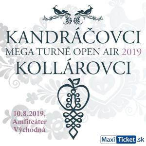Kandráčovci - Mega turné OPEN AIR 2019, Východná