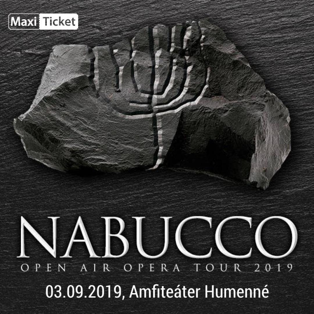 Nabucco Openair tour 2019, Humenné