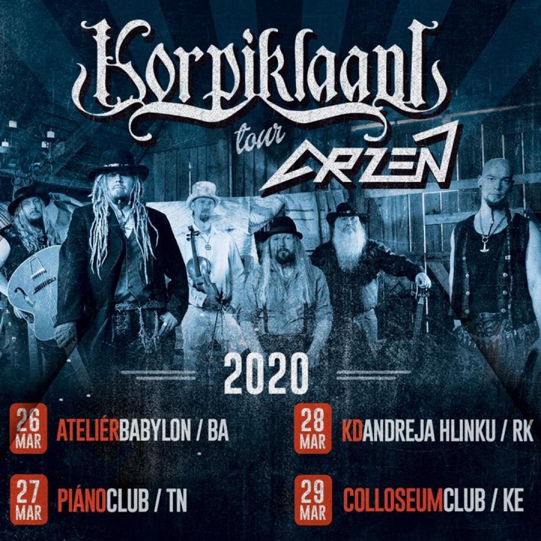 Korpiklaani & Arzén tour 2020 / Trenčín