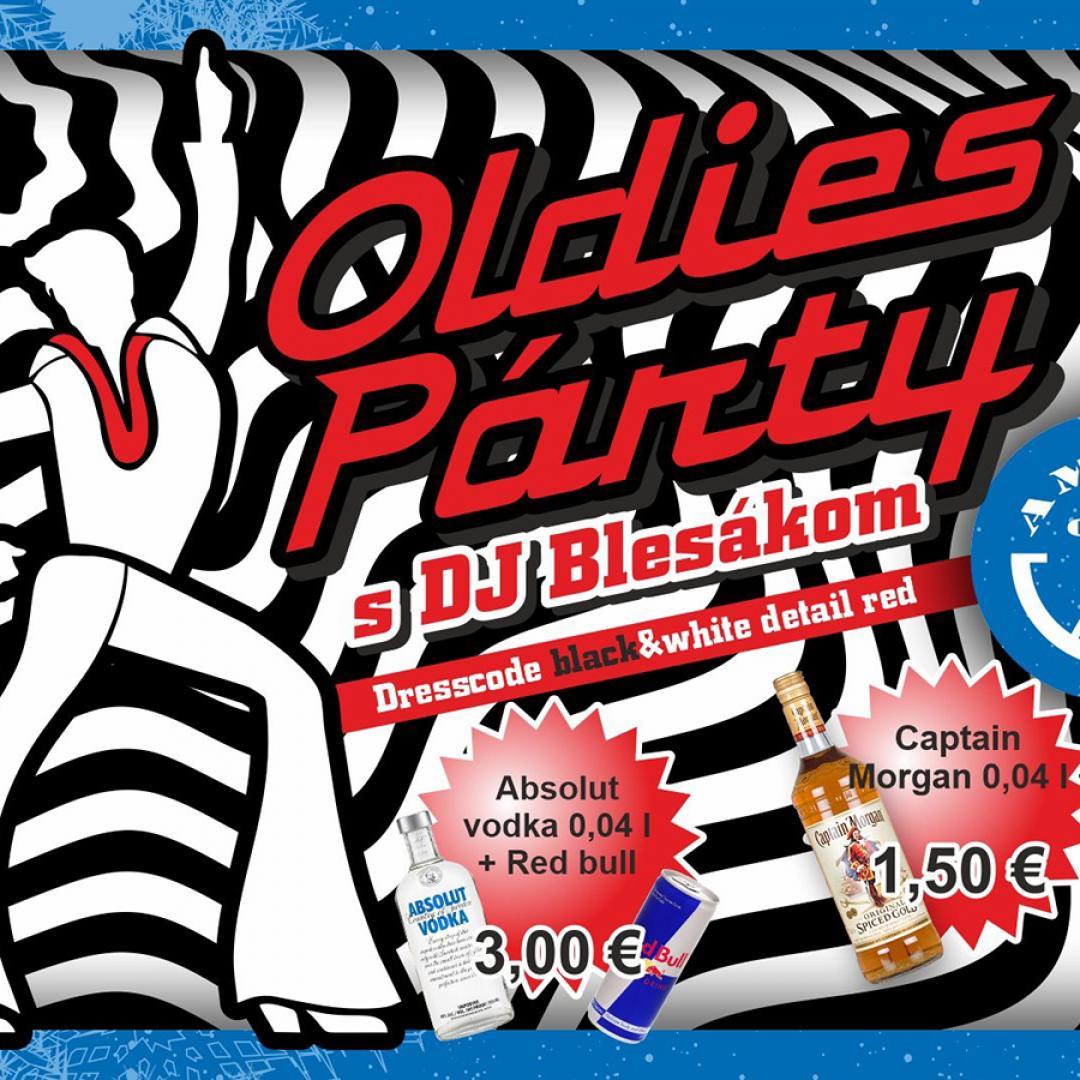 Oldies Párty s DJ Blesák / Amfik Cafe Trnava