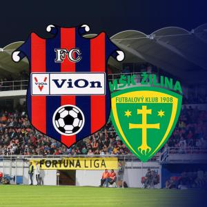 FC ViOn Zlaté Moravce-Vráble vs. MŠK Žilina