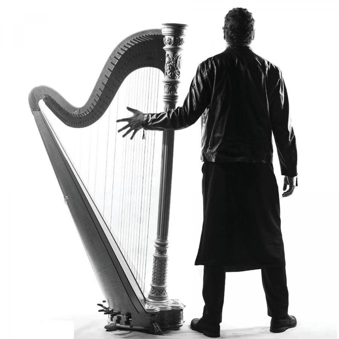 Nádvorie klasicky: Michal Matejčík, harfa
