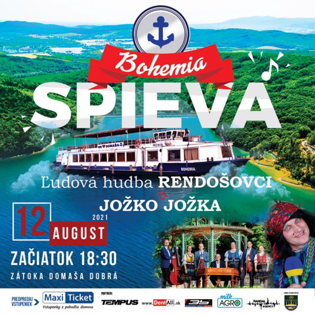 BOHEMIA SPIEVA / Ľudová hudba Rendošovci aJožko Jožka