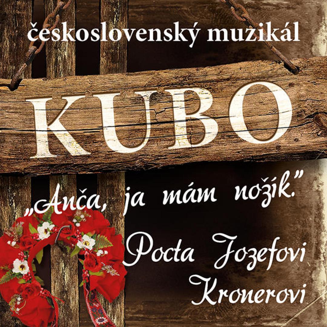 KUBO československý muzikál v Považskej Bystrici