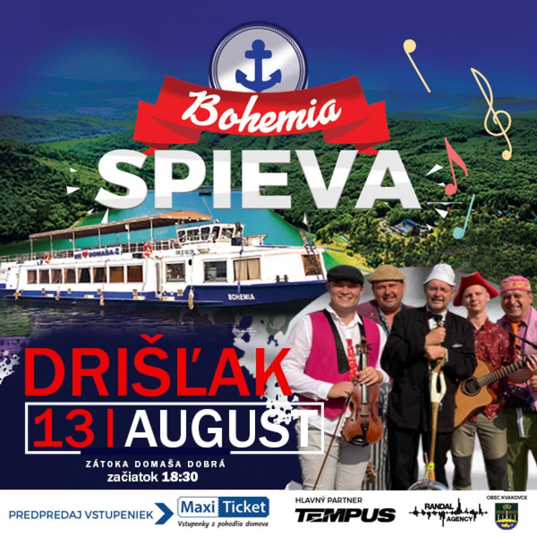 Bohemia spieva / Drišľak / Domaša