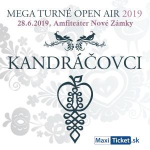Kandráčovci - Mega turné OPEN AIR 2019, Nové Zámky