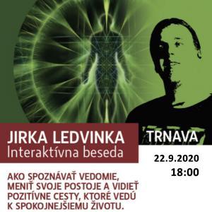 Jirka Ledvinka - interaktívna beseda / Trnava