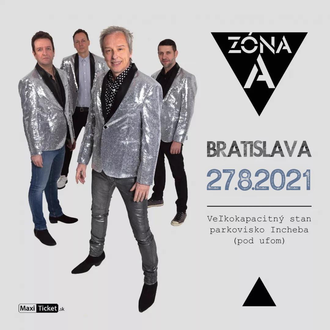 Koncert ZÓNA A / Bratislava