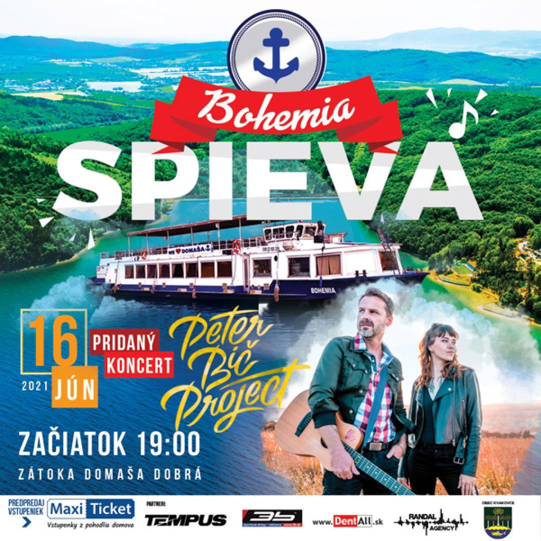 BOHEMIA SPIEVA / Peter Bič Project - Pridaný koncert | 16.06.2021 - streda Loď Bohemia - prístav Domaša - Dobrá