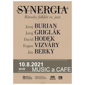 SYNERGIA - Rómsky folklór vs. Jazz