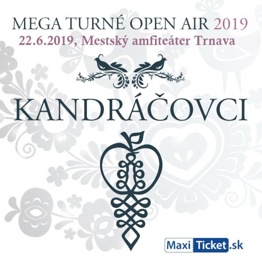 Kandráčovci - Mega turné OPEN AIR 2019, Trnava