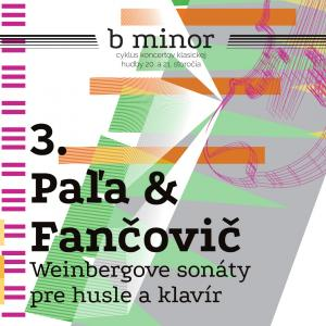 Weinbergove sonáty pre husle a klavír /b minor