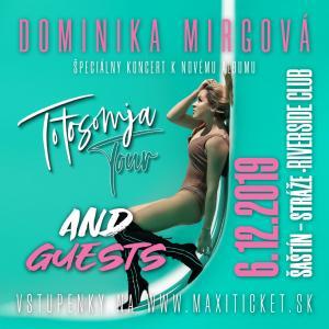 Dominika Mirgová Totosomja Tour / Šaštín-Stráže