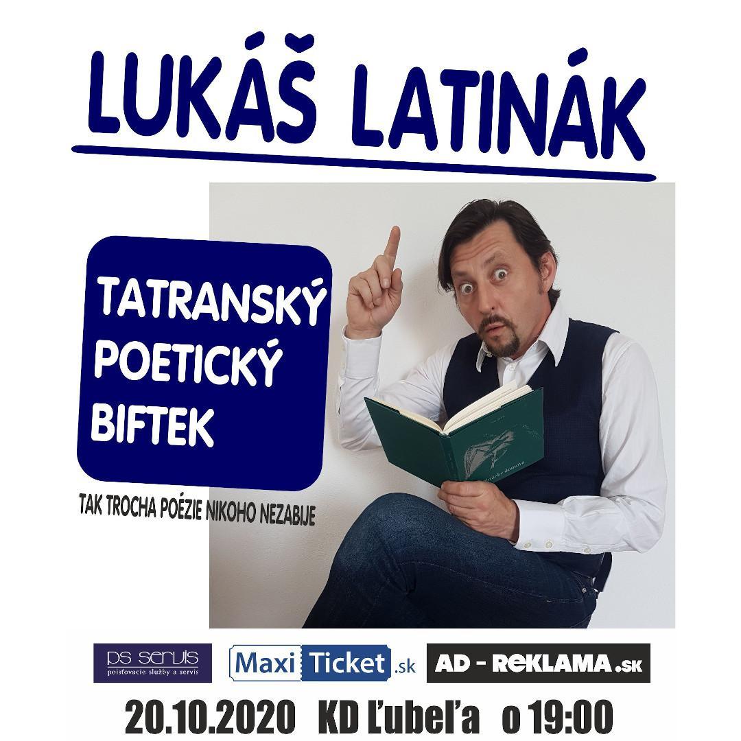 Lukáš Latinák: Tatranský poetický biftek / Ľubeľa