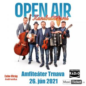 Kandráčovci Open Air 2021 - Trnava