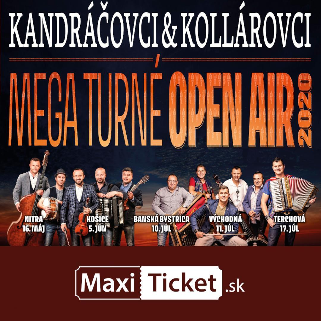 Kandráčovci & Kollárovci  - Mega turné OPEN AIR 2020 - Banská Bystrica