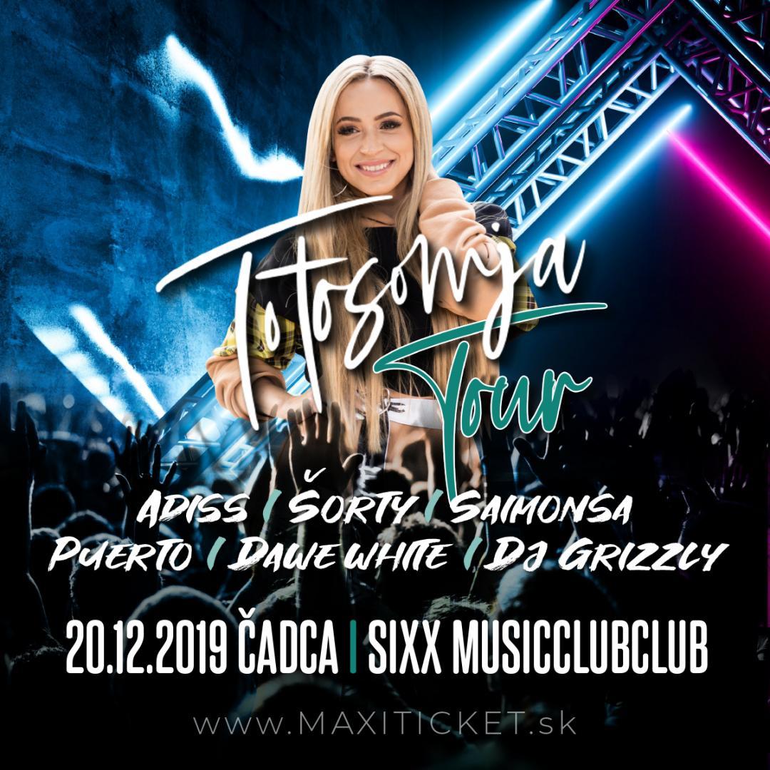 Dominika Mirgová Totosomja Tour / Čadca