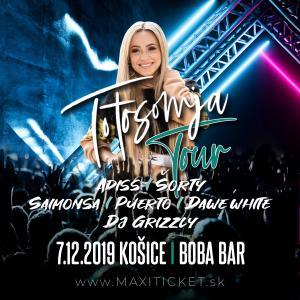 Dominika Mirgová Totosomja Tour / Košice