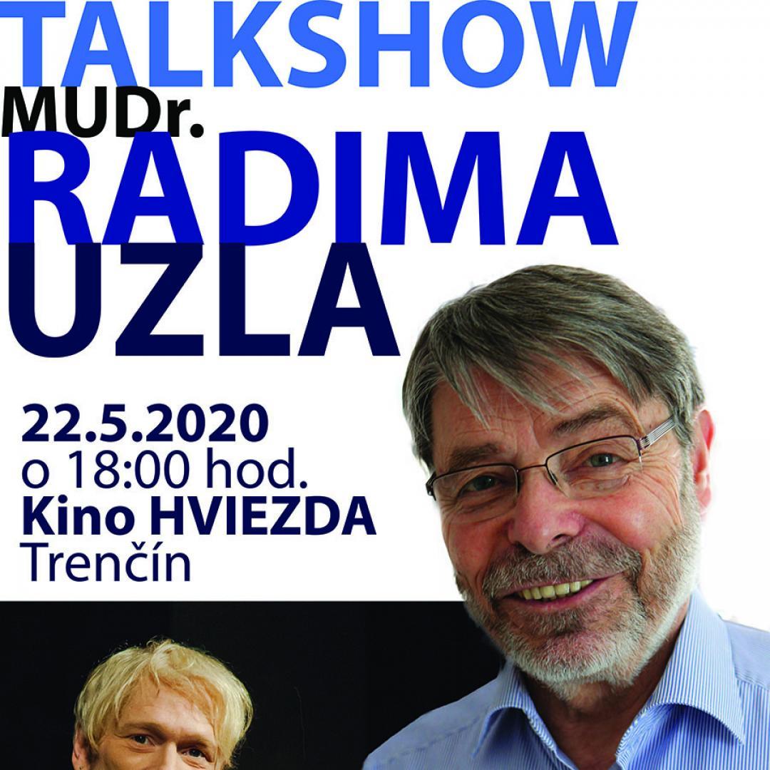 Talkshow MUDr. Radima Uzla, Csc. s hudobným hosťom Robertom Caporalim