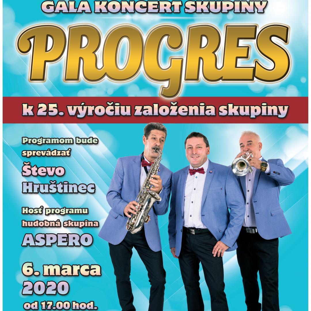 Gala koncert skupiny Progres / Trenčín