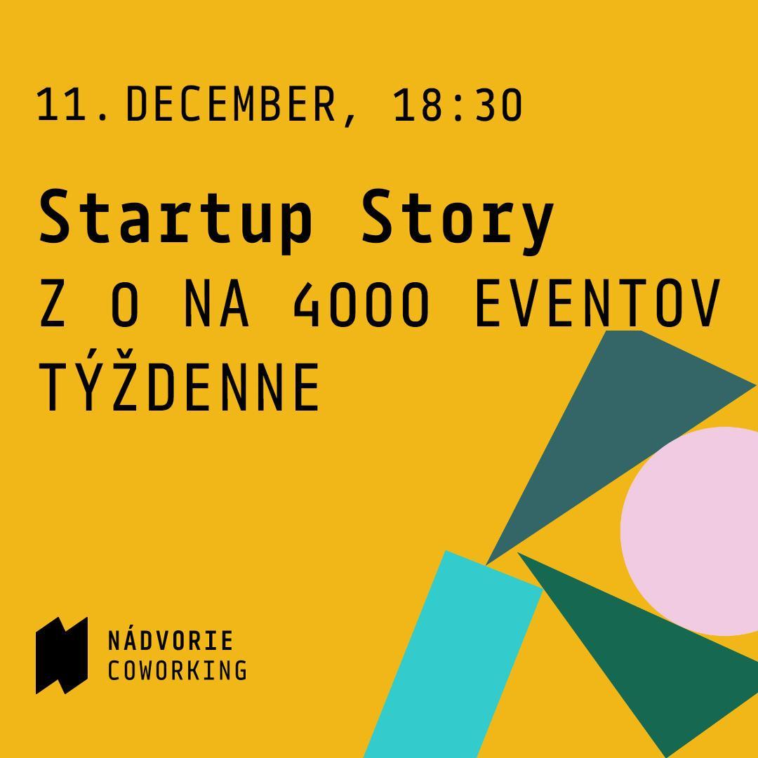 Startup story: Z 0 na 4000 eventov týždenne